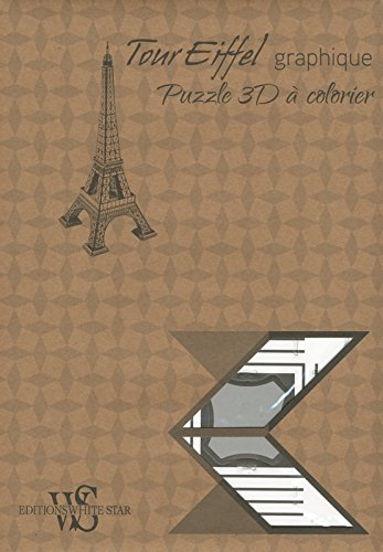 Read Online Tour Eiffel graphique -Puzzle 3D à colorier pdf