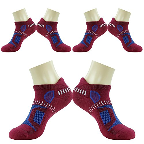 HAPYCEO Hidden Contour Athletic Running Socks for Men and Women, 3/4/6 Pairs