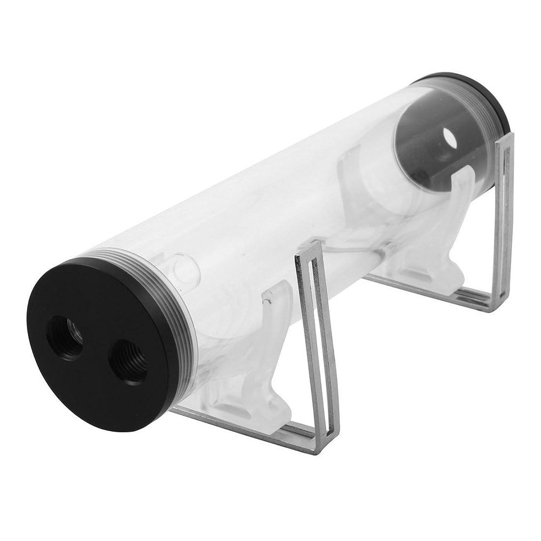 知恵寛解戦争冷却水タンク VBESTLIFE シリンダー水タンクシ 耐熱性 超耐久性 50mm G1 / 4スレッド接続 冷却水タンク(YSX-PMA25)