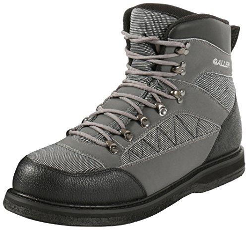 Allen Granite River Wading Boots, Felt Sole, Gray
