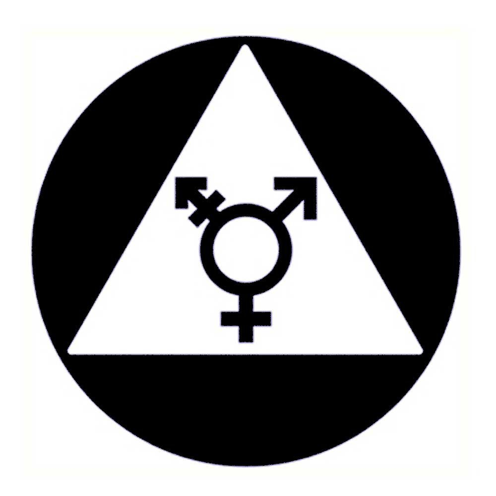 ada compliant gender neutral symbols restroom door sign black 12x12 amazon com industrial scientific ada compliant gender neutral symbols restroom door sign black 12x12