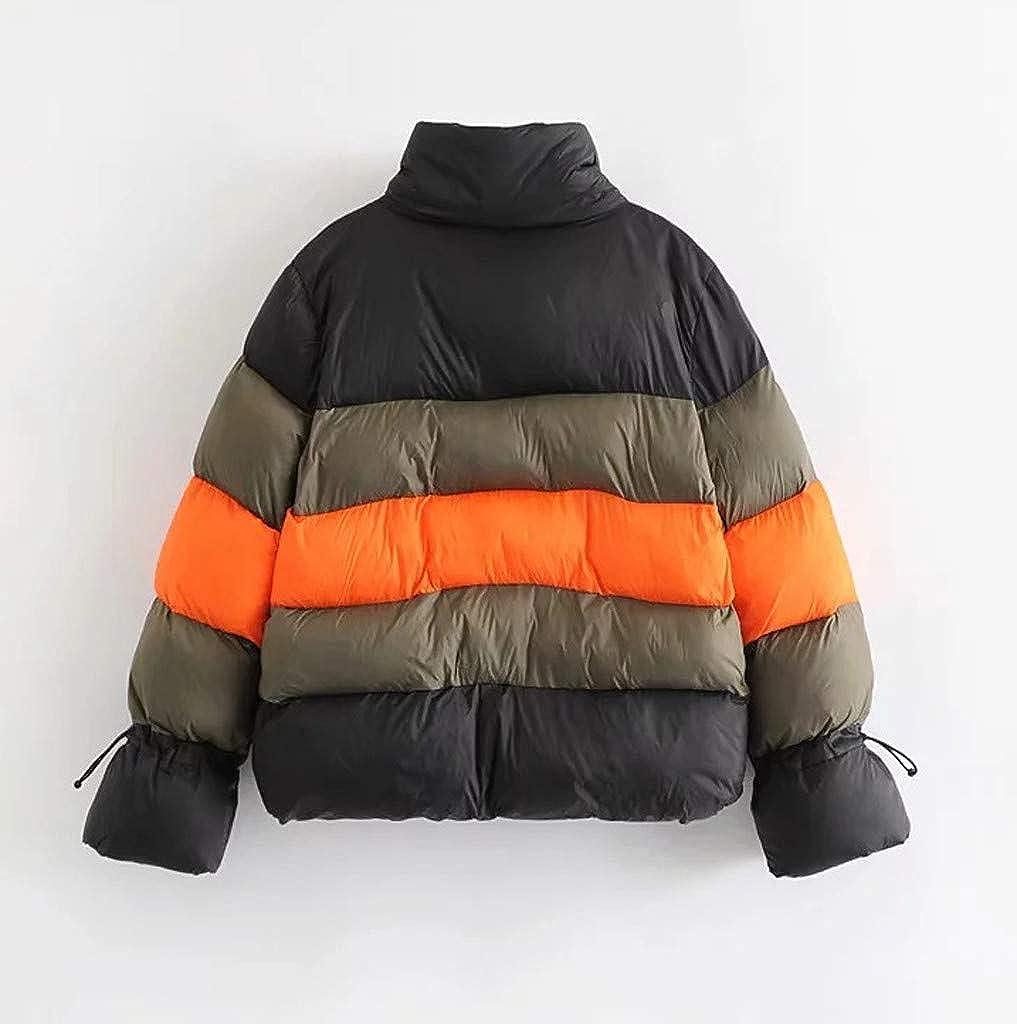 pujingge Men Winter Warm Coat Casual Jacket Outerwear Cotton Down Jacket