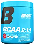 Beast Sports Nutrition – BCAA 2:1:1 – Amino Acid Supplement – Support Muscle Growth – Minimize Muscle Breakdown – Accelerate Recovery – Increase Protein Synthesis – 30 Servings