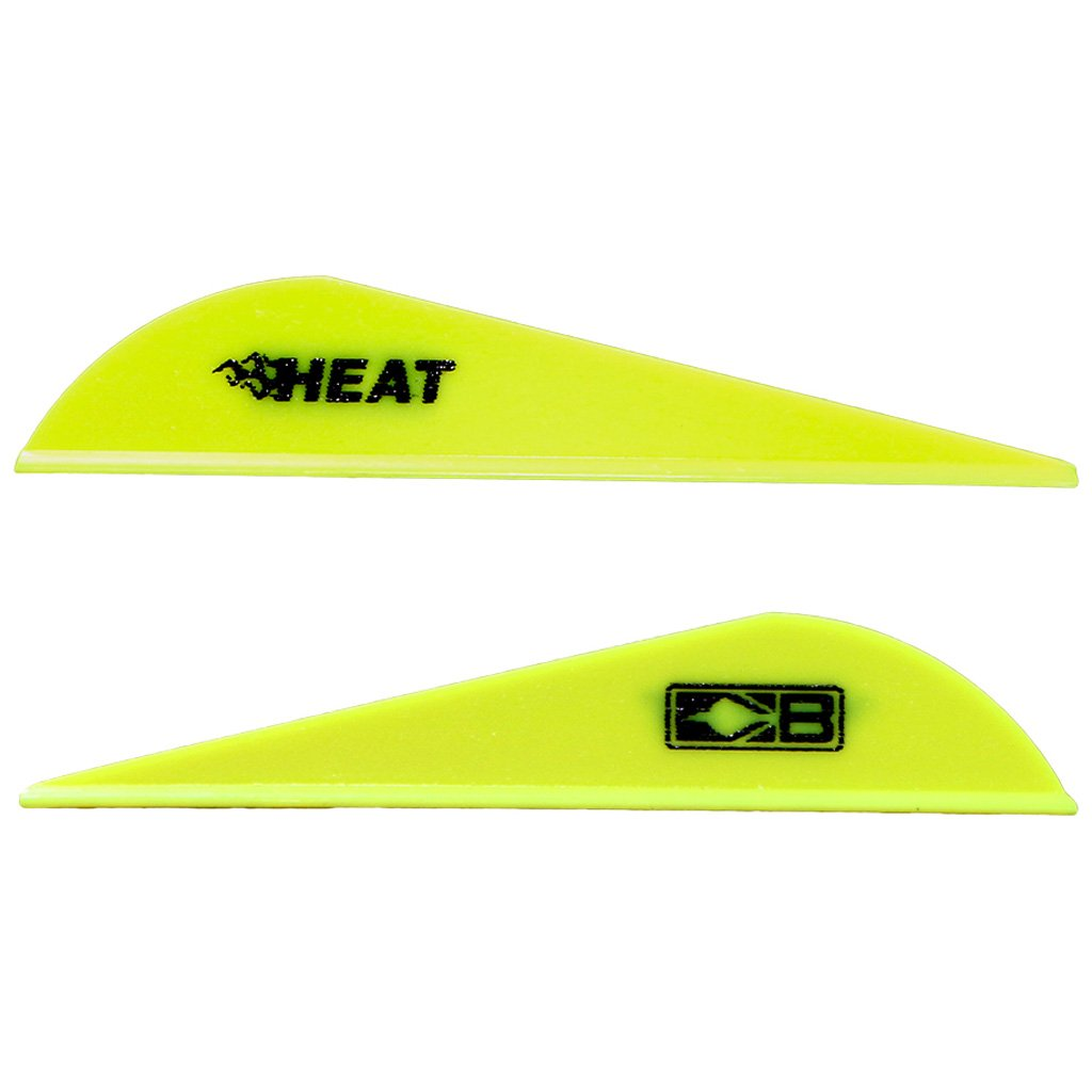 Bohning 2.5'' Heat Vanes Neon Yellow 2.5'' Heat Vane, 36pk