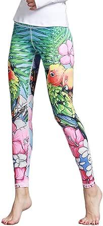 Whitewed Animal Print Athletic Yoga Workout Active Gym Leggings Pants for Women