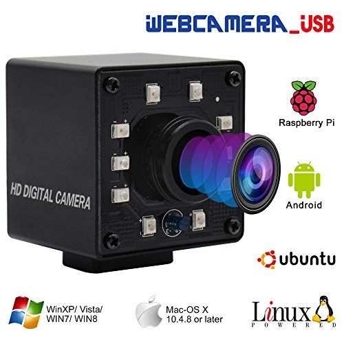 100fps 1.56mm Fisheye Lens USB Camera 1/2.7