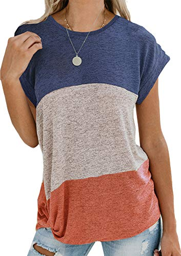 Twotwowin Womens Summer Knotted Sleeve product image