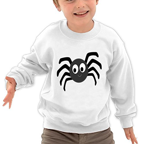 Smile Spider (Faintkeeper Tiger Spider Smile Funny Special Children's Classic Fahion Round Neck Sweater)