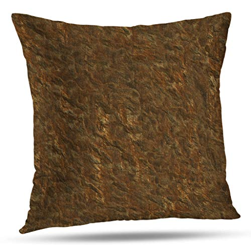 (Darkchocl Daily Decoration Throw Pillow Covers Abstract Earth Tone Colors Reversible Square Pillowcase Cushion for Couch Sofa or Bed Modern Quality Design Cotton and Polyester 18