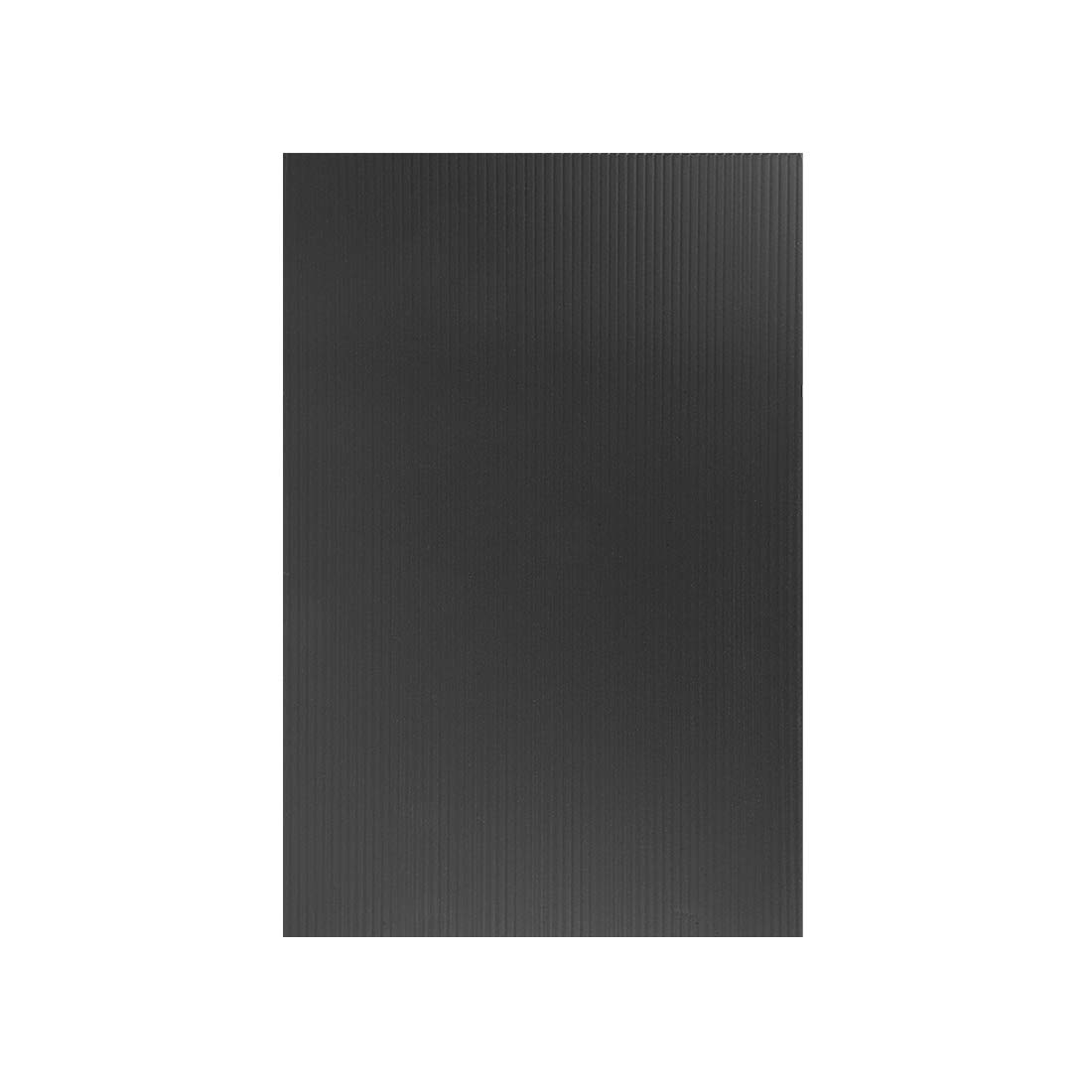 uxcell Corrugated Plastic Sheets,3mm Black Blank Yard Lawn Signs,8 Inch x 12 Inch,Waterproof Sign Blank Board 1pcs