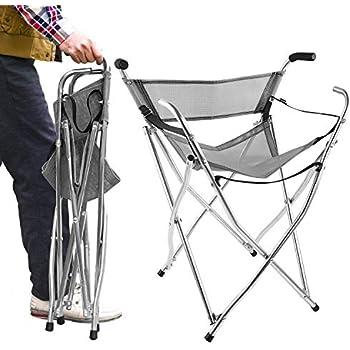 Amazon Com Freshore Walking Stick Chair Seat Folding