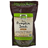 NOW Foods, Pumpkin Seeds, Raw and Unsalted, Essential Fatty Acids, Rich in Iron, Excellent Source of Protein, Certified Non-GMO, 1-Pound