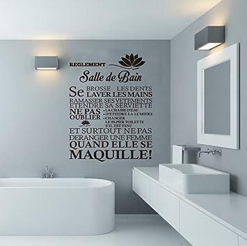 Beilinheng Citations Francais Stickers Muraux Les Regles De
