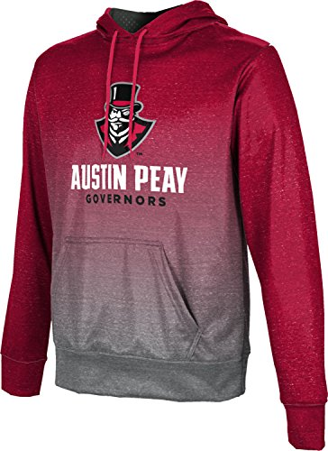 ProSphere Austin Peay State University Men's Hoodie Sweatshirt - Ombre - Shop Clarksville Tn Fit