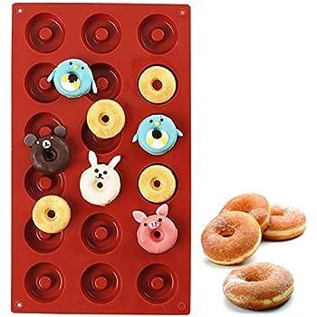 Amazon.com: Norpro 6-Count Nonstick Donut Pan: Individual