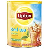 Lipton Black Iced Tea Mix , Lemon Flavor, Decaffeinated, 25.1 Ounce