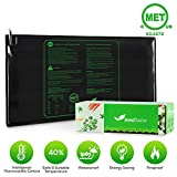 MET certified Seedling Heat Mat, Seedfactor Waterproof Durable Germination Station Heat Mat, Warm Hydroponic Heating Pad for Indoor Home Gardening Seed Starter(48″ x 20″)
