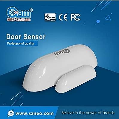 Gen 5-blanco Sensor inal/ámbrico para puerta y ventana NEO Coolcam Z-Wave Plus