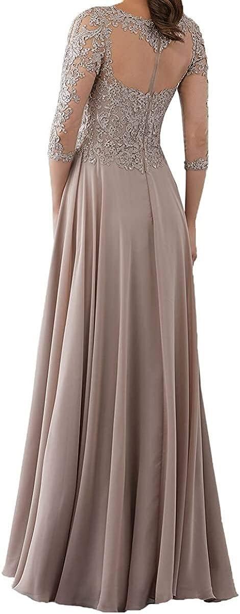 2020 New Top 3/4 Manica Festivo Lunga Madre Abbigliamento dei Vestiti da Sera Prom Dresses Abiti Sposa Cerimonia Lungo Partykleder Blau