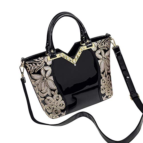 Mujer Black Hombro Hungrybubble Con Color Crossbody 5EIxfBwqwA