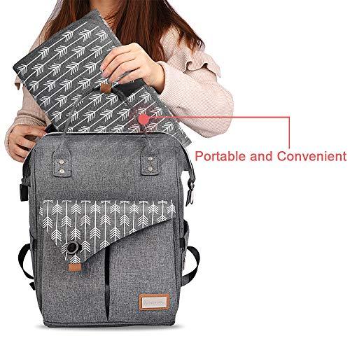 Amazon.com: Lekebaby - Cambiador de pañales portátil ...