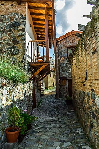 Photography Poster - Backstreet, Alley, Architecture