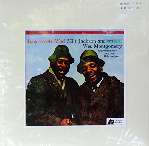 Price comparison product image Bags Meets Wes!,  Milt Jackson and Wes Montgomery with Wynton Kelly,  Sam Jones,  Philly Joe Jones,  Test Pressing Vinyl Album on December 3,  2003s