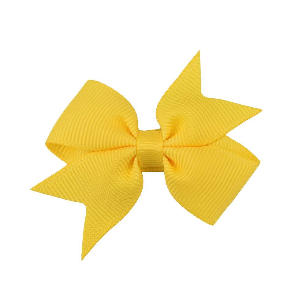 Athli Fashion Cute Children's Hair Accessories Baby Girl Small Bow Hairpin Baby Headdress Bow Accessories Hairpin