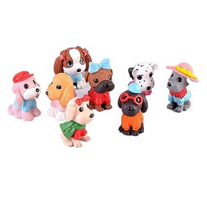 Amazon.com: Ardest - Figuras de perro de dibujos animados ...