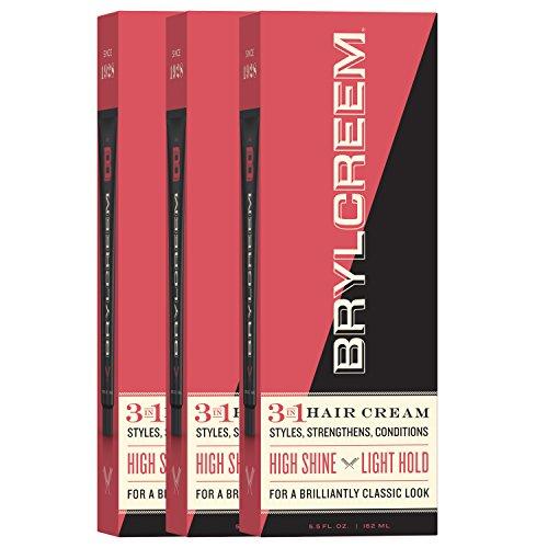 Brylcreem Original Men's Hair Cream, 5.5 Ounce (Pack of 3)