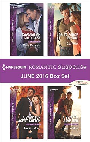 book cover of Harlequin Romantic Suspense June 2016 Box Set