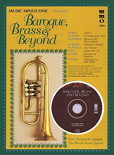 - Baroque, Brass & Beyond: Music Minus One Trumpet