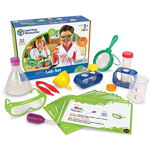 Learning Resources Primary Science Lab Activity Set, 12 Pieces, Ages 4+ -
