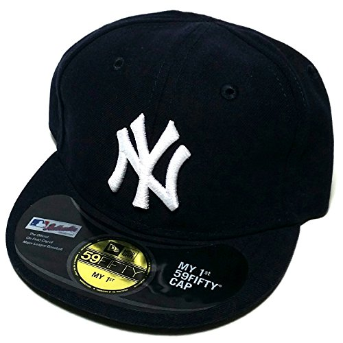 New York Yankees New Era 59Fifty My First Infant 1st Baby Blue Fitted Hat Cap ()