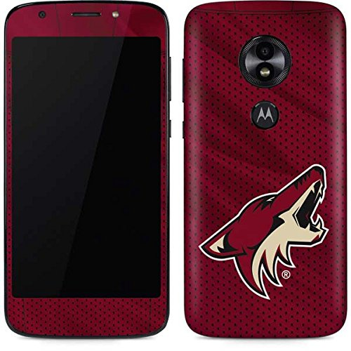 - Skinit NHL Arizona Coyotes Moto E5 Play Skin - Phoenix Coyotes Home Jersey Design - Ultra Thin, Lightweight Vinyl Decal Protection