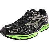 Mizuno Men's 410778 Wave Enigma 6 Running Shoes, Black/Green Gecko/Dark Shadow, 7.5 US D(M)