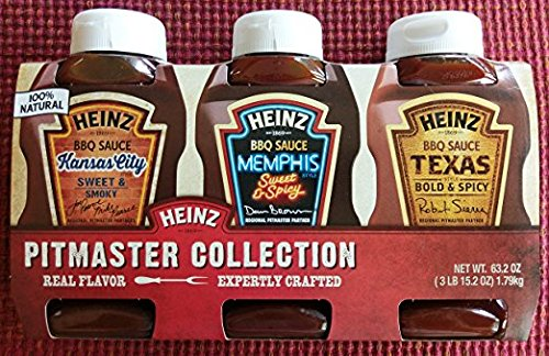 Heinz Pitmaster Collection BBQ Sauces, 3 Pk, Kansas City, Me