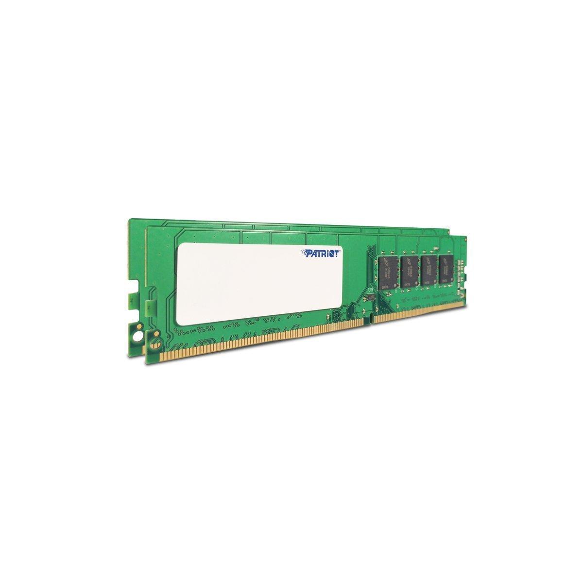 PatriotSignature Line 8GB (2 x 4GB) 288-Pin DDR4 PC4-19200 2400MHz Memory Module Kit PSD48G2400K by Patriot (Image #3)