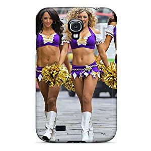 Case Cover Minnesota Vikings Cheerleaderss/ Fashionable Case For Galaxy S4