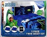 "Disney Good Dinosaur Carnivore 39"" x 75"" Microfiber Twin Sheet Set"