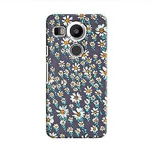 Cover It Up Flower Rain Hard Case For Nexus 5X - Multi Color