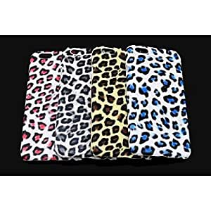 QJM iPhone 6 compatible Leopard Print Back Cover , Red