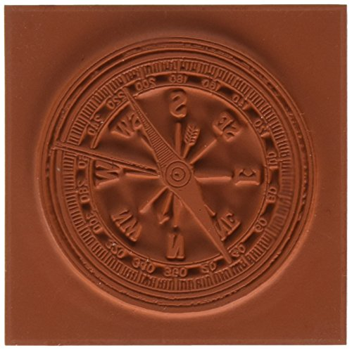 Deep Red Cling Stamp-Compass by Deep Red Stamps