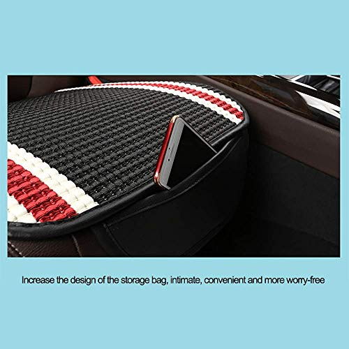 Lqqzq Cushion Car Seat Cushion, Universal Cool Ice Silk Car Seat Four Seasons Comfortable Breathable Protection Office Chair Car Seat Cushion (Color : H) by Lqqzq (Image #3)