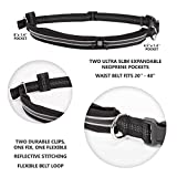 Premium Hands-free Running Dog Leash with Ergonomic Waist Belt, Dual Handle Bungee Leash by Paw Elite