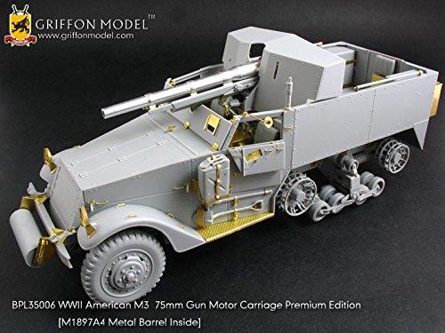 Griffon Model 1/35 WW II American M3 75mm Gun Motor Carriage Premium Edition BPL35006