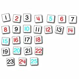 CARSON DELLOSA HUNDREDS CHART REPLACEMENT CARDS (Set of 24)
