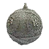 Christmas Ball Ornaments 8CM Christmas Rhinestone Bling Baubles Balls Xmas Tree Ornament Decoration