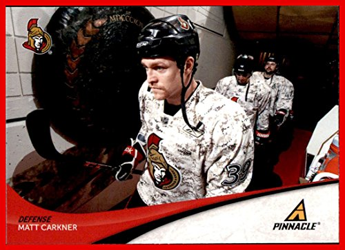 2011-12 Pinnacle #239 Matt Carkner OTTAWA SENATORS Camo Warmup - Uniform Ottawa Senators