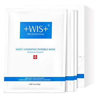 WIS Hydrating Smoothing Moisturizing Natural full face facial Mask Sheet,Balance Water and Oil to Anti Aging& Wrinkle& Acne,24 combo pack